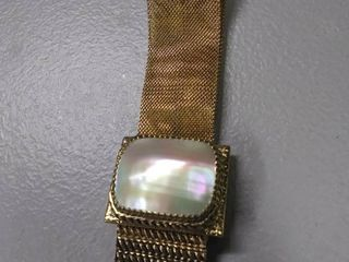 Very Nice Mother Of Pearl Bracelet  Authenticity Not Confirmed