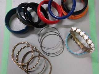 Bangle Bracelet lot of 16