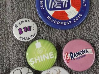 Riverfest Button   Others lot of 6
