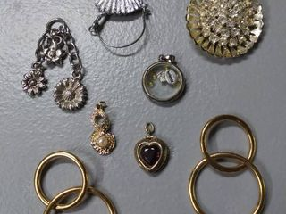 Charms Including Ballerina lot of 8