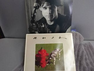 2 Vinyl Records  Rush Signals  Eddie And The Cruisers