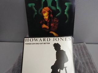 2 Howard Jones Vinyl Records