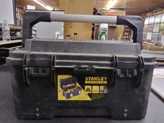 Tool lot   48   Stanley Fatmax Tool Box   Missing One latch