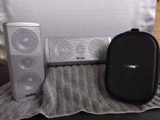 Infinity Speakers   Bose Headphone Case