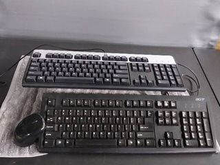 2 keyboards and Wireless Mouse