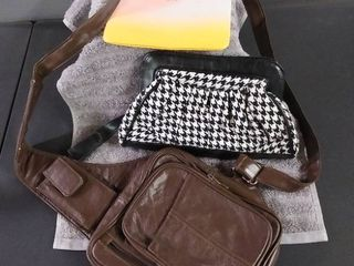 Crossbody   Clutch Purse lot Of 3