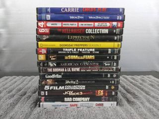 16 Assorted DVD s
