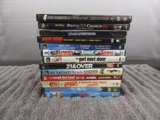 13 Assorted DVD s