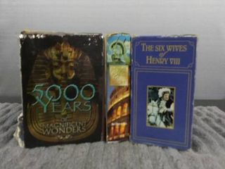 3 Full Sets of History on DVD s   HVS