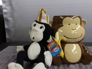 Plush Monkey   Monkey Jar