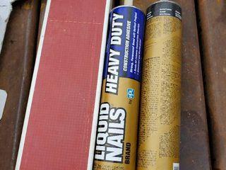 2  28oz liquid Nails Adhesive   2  172in Reflector Guards