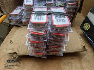 10  Boxes Of 50 White 3 5  High Impact Drive Rivets