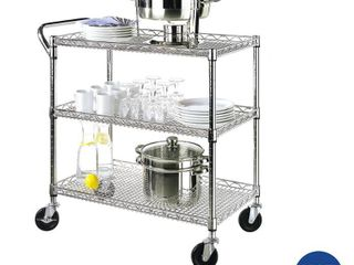 Seville Classics NSF listed Industrial All Purpose Utility Cart