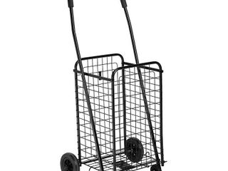 Honey Can Do CRT 01511 Black Rolling Utility Cart