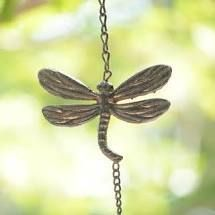 Rustic Wind Chime  Dragonfly