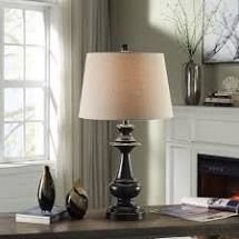 Copper Grove Hersey Traditional Bronze Metal Table lamp