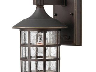 Hinkley Freeport 1 light Outdoor Wall Mount in Oil Rubbed Bronze Retail 99 00