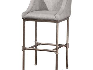 Hillsdale Furniture Dillion Non Swivel Counter Stool   35 25H x 20 625W x 21 5D with 26  Seat Height  Retail 254 49