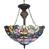 Chloe Nora Collection Tiffany Style Victorian Chandelier