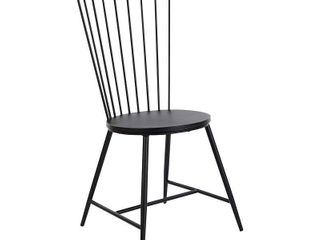 Bryce 26  Dining Chair with Black Finish