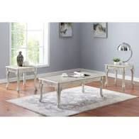 Furniture of America Diken 3 piece Coffee Table and End Tables Set  Retail 456 99