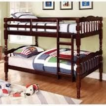 Furniture of America Dazy Traditional Twin over Twin Bunk Bed  Retail 417 99