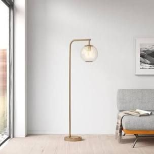 Hingham 58 5  Arched Floor lamp