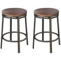 Alline Swivel 24 2 inch Counter Stool Set of 2