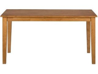 Simplicity Honey Wood Dining Table Bench by Jofran