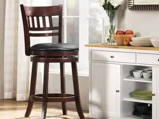 Verona Swivel High Back Counter Height Stool by iNSPIRE Q Classic  Retail 127 49
