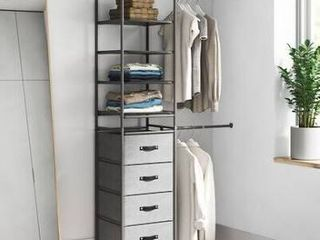 Colby 18 5 inch Modular Closet System