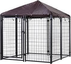 lockable Dog House Kennel