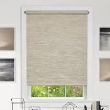 Semi Sheer Roller Shade Blind Size  28 W x 72 l