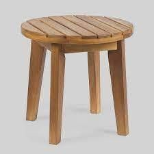 Gertrude Outdoor 16a Acacia Wood Side Table