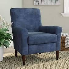 Ronald 28 inch W Polyester Blend Armchair Upholstery
