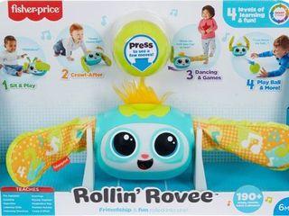 Fisher Price Rollin Rovee Interactive Musical Activity Toy