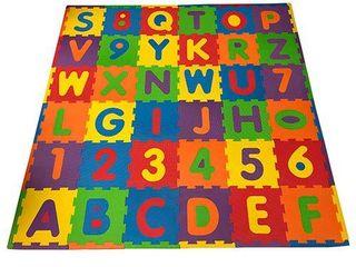 Fun N  Safe Kid s Abc 123 Play Mat