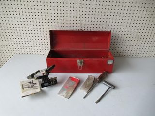 Tool Box   Chainsaw Tools   Coffre a outils  etc