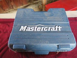 MASTERCRAFT DRIll   DRIll BIT lOT IN CASE