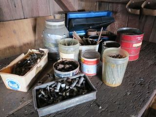 MISC  lOT IJ NUTS  BOlTS   NAIlS