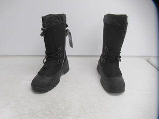 Baffin Men s 12 Wolf Snow Boots  Black Pewter