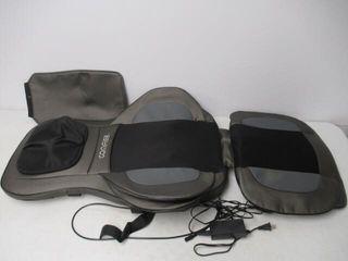Used  Shiatsu Neck   Back Massager Seat Chair
