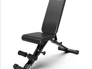 Foldable Adjustable Bench  Utility Weight Bench