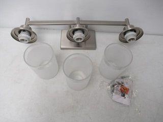 As Is  Progress lighting P2743 09 3 light Bath