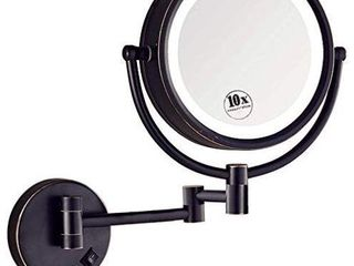 Ovente lighted Wall Mounted Makeup Mirrors 8 5