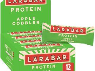 larabar Protein Bar  Apple Cobbler  12 Count