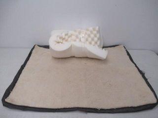 As Is  Bedsure Egg Crate Foam Dog Bed  Orthopedic