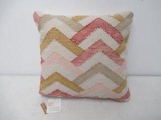 Distinctly Home Piper Hand Woven Cotton Cushion