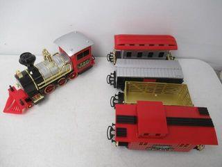 As Is  FAO Schwarz 75 Piece Classic Train Set