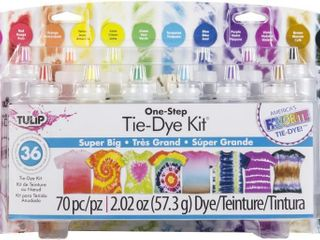 Tulip One Step Tie Dye Kit Super Big 12 Colors